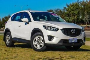 2013 Mazda CX-5 KE1031 MY13 Maxx SKYACTIV-Drive AWD White 6 Speed Sports Automatic Wagon Clarkson Wanneroo Area Preview