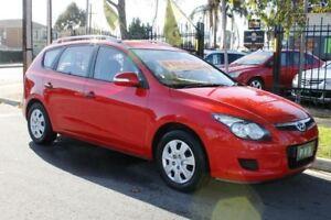 2011 Hyundai i30 FD MY12 CW Sportswagon 2.0 Red 4 Speed Automatic Wagon Klemzig Port Adelaide Area Preview