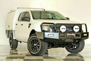 2015 Ford Ranger PX XL 3.2 (4x4) White 6 Speed Manual Dual Cab Chassis Burleigh Heads Gold Coast South Preview