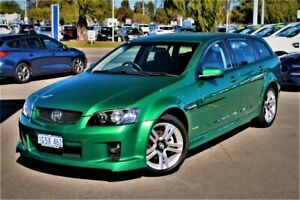 2009 Holden Commodore VE MY10 SV6 Sportwagon Green 6 Speed Sports Automatic Wagon Midland Swan Area Preview