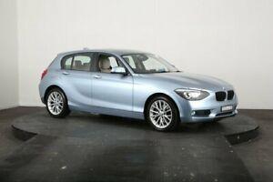 2013 BMW 118i F20 MY13 Blue 8 Speed Automatic Hatchback