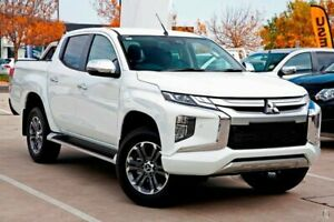 2018 Mitsubishi Triton MR MY19 GLS Double Cab White 6 Speed Sports Automatic Utility Gympie Gympie Area Preview