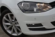 2015 Volkswagen Golf VII MY16 110TSI DSG Highline White 7 Speed Sports Automatic Dual Clutch Southport Gold Coast City Preview