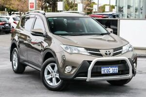 2014 Toyota RAV4 ZSA42R MY14 GXL 2WD Bronze 7 Speed Constant Variable Wagon Welshpool Canning Area Preview