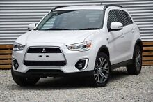 2015 Mitsubishi ASX XB MY15 LS 2WD White 6 Speed Constant Variable Wagon Helensvale Gold Coast North Preview