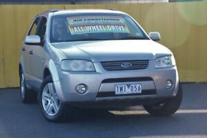 2005 Ford Territory SX Ghia AWD Silver 4 Speed Sports Automatic Wagon Cheltenham Kingston Area Preview