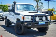 2009 Toyota Landcruiser VDJ79R Workmate White 5 Speed Manual Cab Chassis Archerfield Brisbane South West Preview