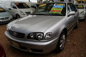 2000 Toyota Corolla AE112R Ascent Seca Silver 4 Speed Automatic Liftback Minchinbury Blacktown Area Preview