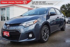 2014 Toyota Corolla S with Upgrade Package!