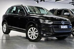 2012 Volkswagen Touareg 7P V6 TDI Black Sports Automatic South Morang Whittlesea Area Preview