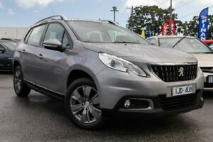 2017 Peugeot 2008 A94 MY17 Active Grey 6 Speed Sports Automatic Wagon Dandenong Greater Dandenong Preview