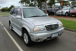 2002 Suzuki Grand Vitara Freestyle (4x4) Silver 4 Speed Automatic Wagon Hoppers Crossing Wyndham Area Preview