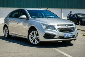 2015 Holden Cruze JH Series II MY15 Equipe Silver 5 Speed Manual Hatchback Midvale Mundaring Area Preview