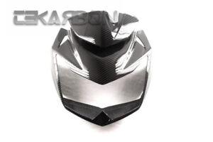 2007 - 2011 Kawasaki Z750 Carbon Fiber Front Fairing v39 - 2x2 twill