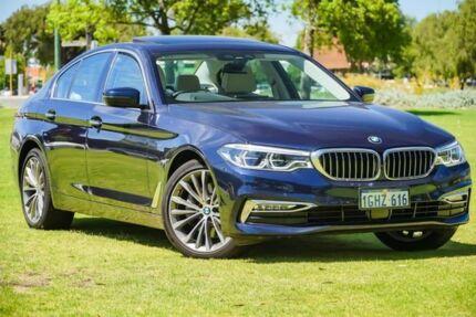 2017 BMW 530i G30 Luxury Line Steptronic Blue 8 Speed Sports Automatic Sedan