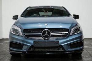 2015 Mercedes-Benz A45 W176 805+055MY AMG SPEEDSHIFT DCT 4MATIC Blue 7 Speed