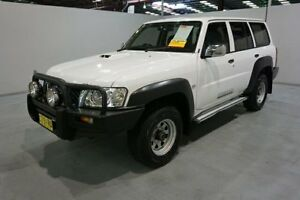 2010 Nissan Patrol GU 7 MY10 DX White 5 Speed Manual Wagon Old Guildford Fairfield Area Preview