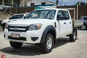 2010 Ford Ranger PK XL HI-Rider (4x2) White 5 Speed Automatic Dual Cab Chassis Laidley Lockyer Valley Preview
