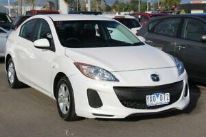 2012 Mazda 3 BL10F2 Neo Activematic White 5 Speed Sports Automatic Sedan Cheltenham Kingston Area Preview