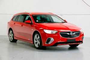 2018 Holden Commodore ZB MY18 RS-V Sportwagon AWD Red 9 Speed Sports Automatic Wagon Capalaba Brisbane South East Preview