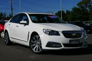 2015 Holden Calais VF II MY16 V Heron White 6 Speed Sports Automatic Sedan Hillcrest Logan Area Preview