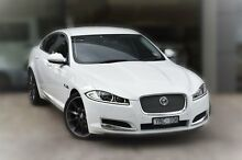 2011 Jaguar XF X250 MY12 Premium Luxury White 8 Speed Sports Automatic Sedan Berwick Casey Area Preview