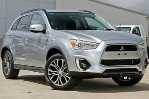 2015 Mitsubishi ASX XB MY15.5 LS 2WD Cool Silver 6 Speed Constant Variable Wagon Blacktown Blacktown Area Preview