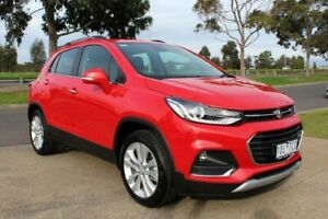 2018 Holden Trax TJ MY18 LTZ (5Yr) Absolute Red 6 Speed Automatic Wagon Werribee Wyndham Area Preview