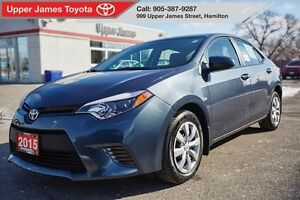 2015 Toyota Corolla LE - Fuel efficient & reliable.