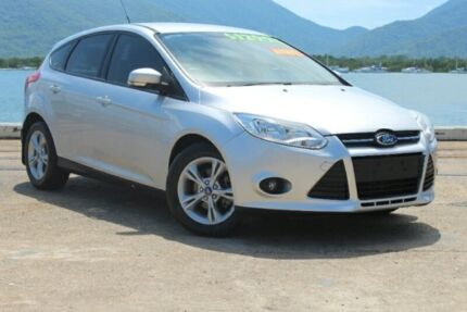 2013 Ford Focus LW MKII Trend PwrShift Silver 6 Speed Sports Automatic Dual Clutch Hatchback Portsmith Cairns City Preview