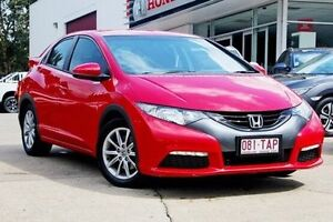 2012 Honda Civic 9th Gen VTi-S Red 5 Speed Sports Automatic Hatchback Noosaville Noosa Area Preview