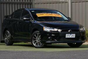 2013 Mitsubishi Lancer CJ MY14 ES Black 5 Speed Manual Sedan Wantirna South Knox Area Preview