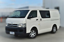 2010 Toyota Hiace KDH201R MY10 LWB White Solid 5 Speed Manual Van Berwick Casey Area Preview