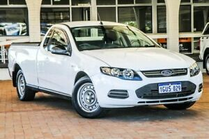 2013 Ford Falcon FG MkII Ute Super Cab White 6 Speed Sports Automatic Utility Melville Melville Area Preview