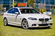 2015 BMW 520d F10 LCI Luxury Line Steptronic White 8 Speed Sports Automatic Sedan Burswood Victoria Park Area Preview