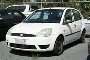 2004 Ford Fiesta WP LX White 5 Speed Manual Hatchback Underwood Logan Area Preview