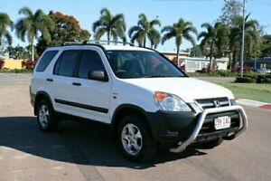 2003 Honda CR-V RD MY2003 4WD White 5 Speed Manual Wagon Townsville Townsville City Preview