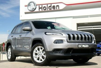 2014 Jeep Cherokee KL MY15 Sport Silver 9 Speed Sports Automatic Wagon Liverpool Liverpool Area Preview