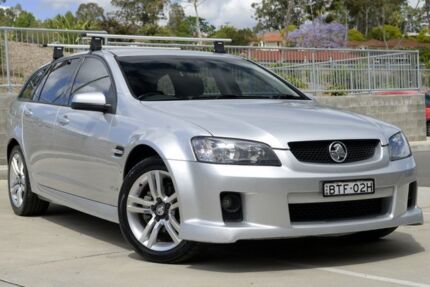 2010 Holden Commodore VE MY10 SV6 Sportwagon Silver 6 Speed Sports Automatic Wagon Lisarow Gosford Area Preview