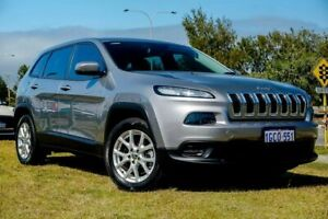 2016 Jeep Cherokee KL MY16 Sport Grey 9 Speed Sports Automatic Wagon Clarkson Wanneroo Area Preview