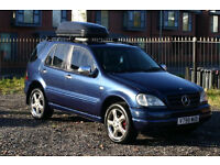 Mercedes ML 320 3.2 (Great SUV with new MOT and lots of extras)