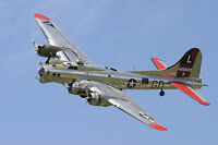 Aug 8 Fly in a B-17 Flying Fortress at London Airport