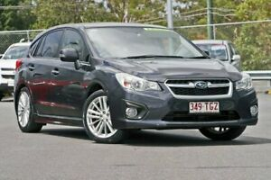 2013 Subaru Impreza G4 MY14 2.0i-S Lineartronic AWD Dark Grey 6 Speed Constant Variable Hatchback Hillcrest Logan Area Preview