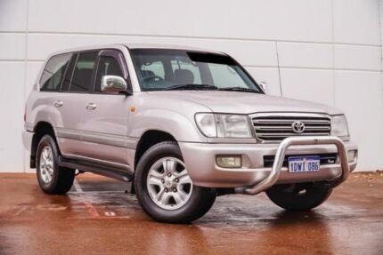 2003 Toyota Landcruiser UZJ100R Sahara Silver 5 Speed Automatic Wagon Maddington Gosnells Area Preview