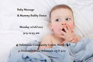 Baby Massage & Mummy Bubby Dance Helensvale Gold Coast North Preview