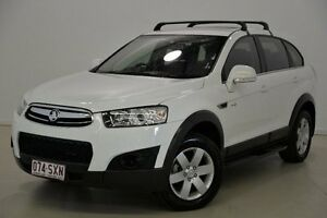 2013 Holden Captiva CG Series II MY12 7 SX White 6 Speed Sports Automatic Wagon Mansfield Brisbane South East Preview