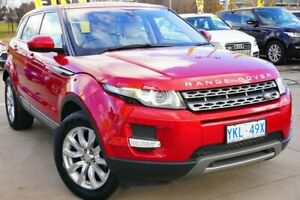 2015 Land Rover Range Rover Evoque L538 MY15 TD4 Pure Tech Firenze Red 9 Speed Sports Automatic Pearce Woden Valley Preview