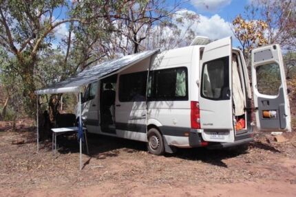 VW Crafter 2.5 TDI Motorhome 2010 Beechworth Indigo Area Preview