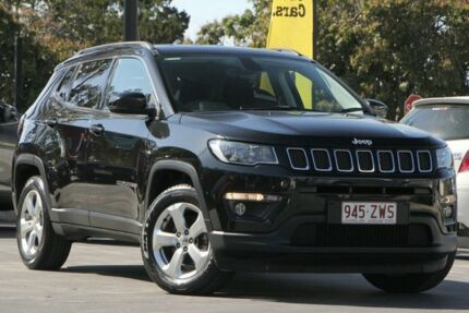 2018 Jeep Compass M6 MY18 Longitude FWD Black 6 Speed Automatic Wagon North Lakes Pine Rivers Area Preview