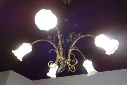 Antique Brass Lights Kew Boroondara Area Preview